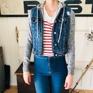 ♥️ Abercrombie ♥️ Blue Jean Jacket